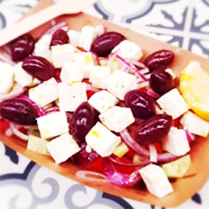 Greek Salad Gyroland