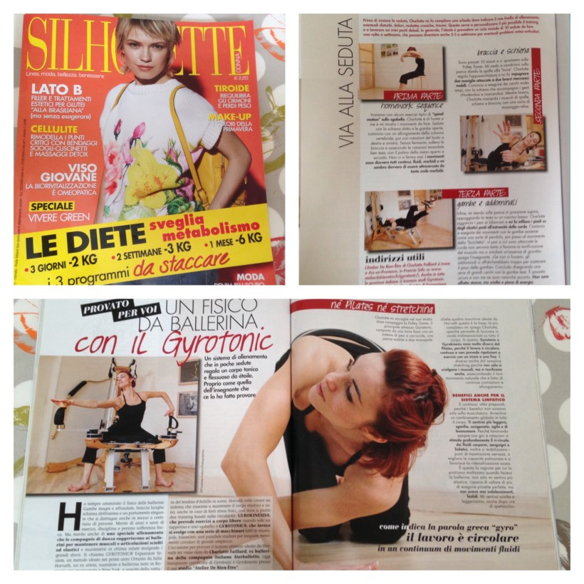 Article Magazine « Silhouette »