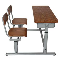 Chair Connected To Desk Folding Patio Chairs Canadian Tire School And Cheap Height Adjustable Steel Furniture Manufacturers Suppliers Wholesale From Factory Hongzhou