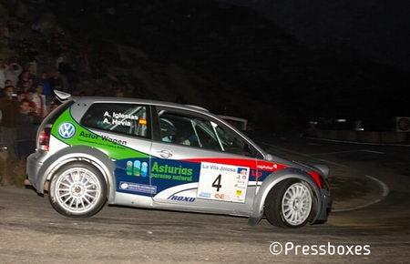 Alberto Hevia - Rally Alicante