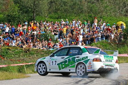 Javier Paz - Rally de Ourense