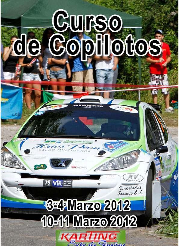 Curso Copiloto de Rallyes - ENRIQUE VELASCO