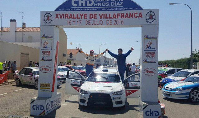 Casimiro RallyVillafranca Final
