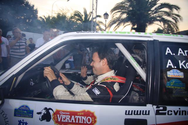 Resultados del IV Rallye de Extremadura Histórico