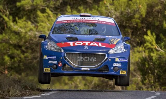 PeugeotEspanha RallyRACC Final 01