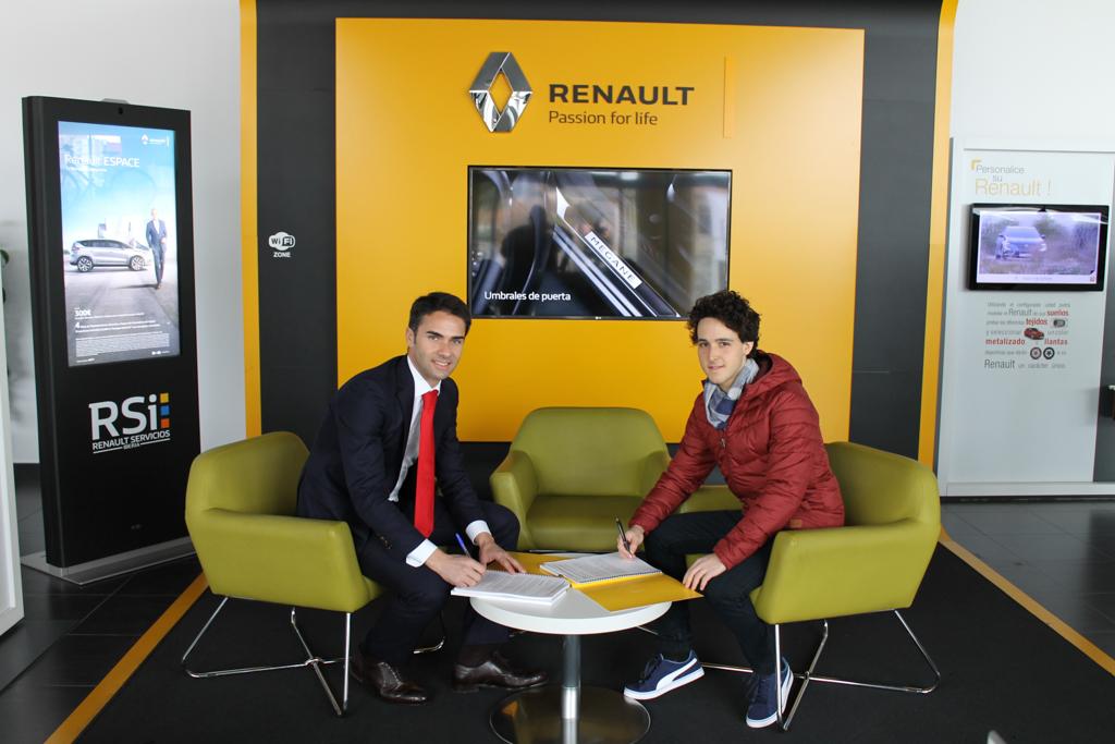 JJ Pérez, al Trofeo Iberia Clio R3T con el apoyo del Grupo Renault Automóviles Gomis