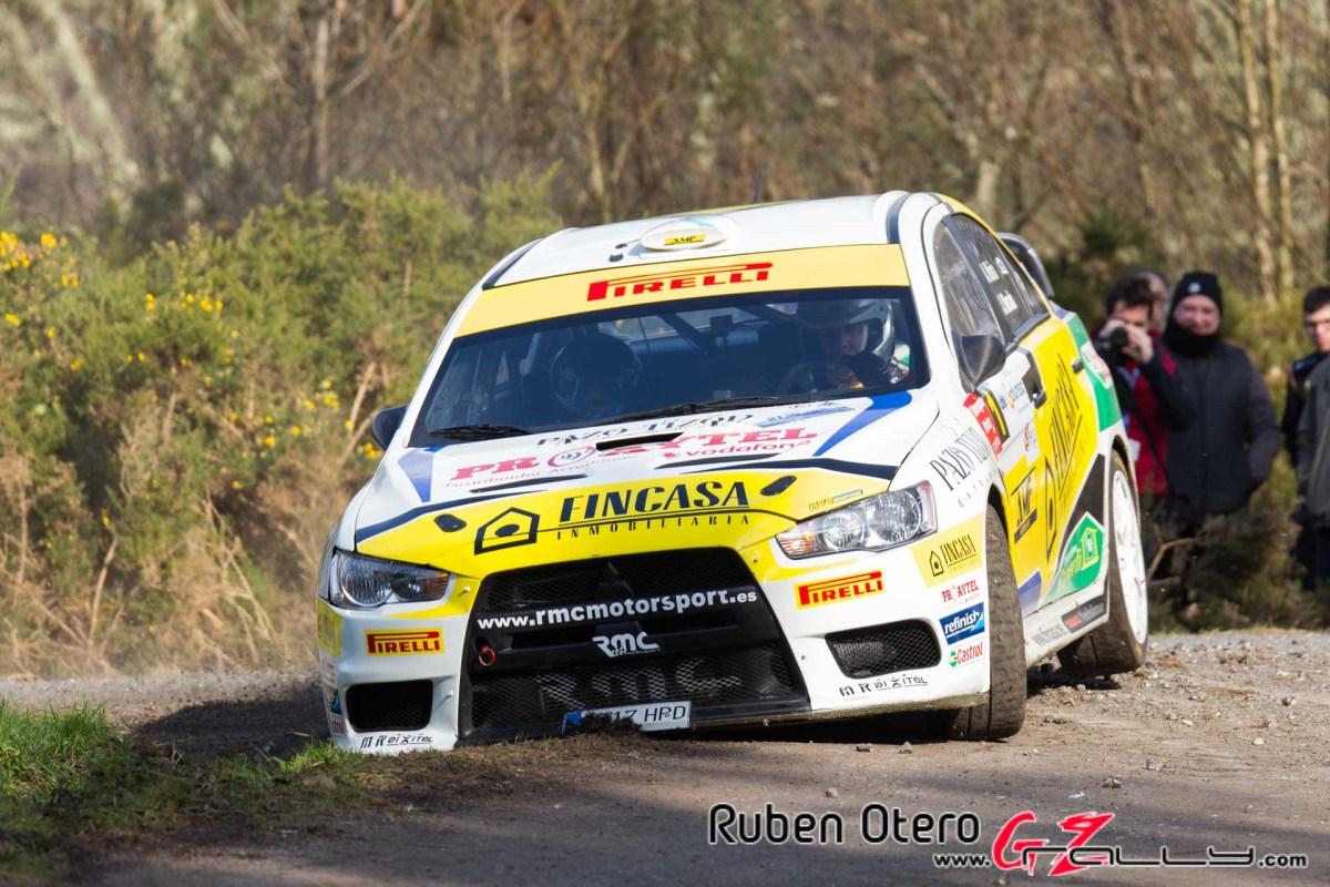 Alberto Meira se quedó a un paso del podio en el Rali de A Coruña