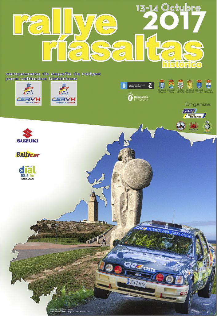 El Rallye Rías Altas dictará sentencia en el nacional de históricos