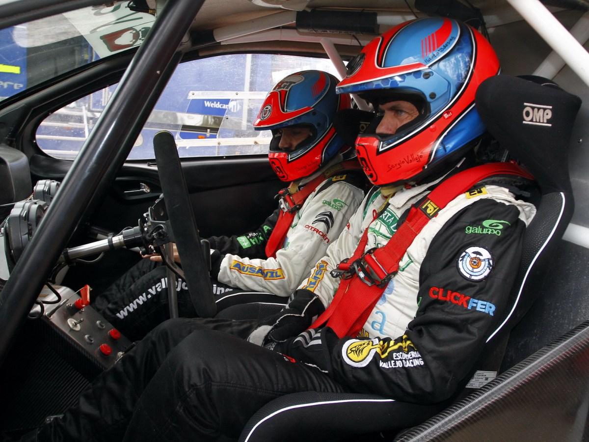 Sergio y Diego Vallejo en el Rallye de Tierra Ciudad de Astorga
