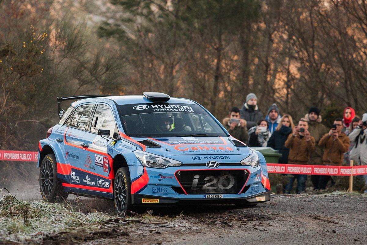 Ivan Ares y José Pintor, ganadores de la 22ª edición del Rally de A Coruña