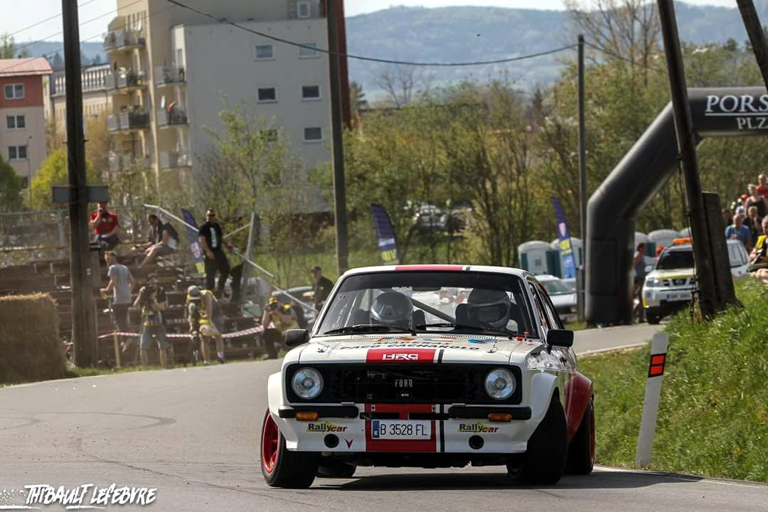La mecánica aleja a Xesus Ferreiro del podio en el Historic Vltava Rallye