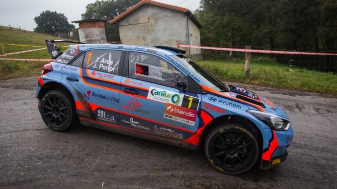 Ivan Ares en el Rally Santander 2018