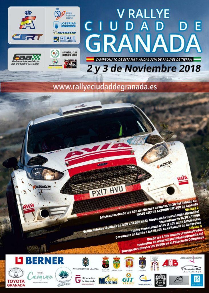 Rally Ciudad De Granada 2018 Cartel