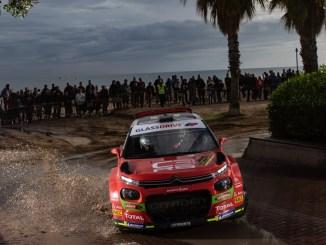 Pepe Lopez en el Rally RACC 2018