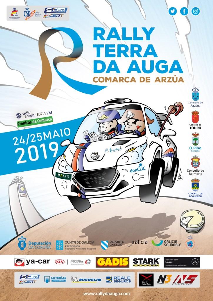 Cartel Rally Terra da Auga 2019