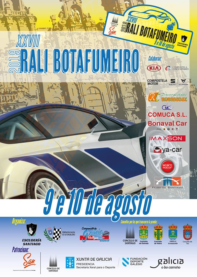 Cartel Rally Botafumeir 2019