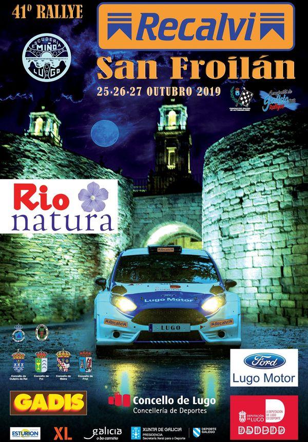 Campeonatos Regionales 2019: Información y novedades - Página 22 Cartel-Rally-San-Froilan-2019