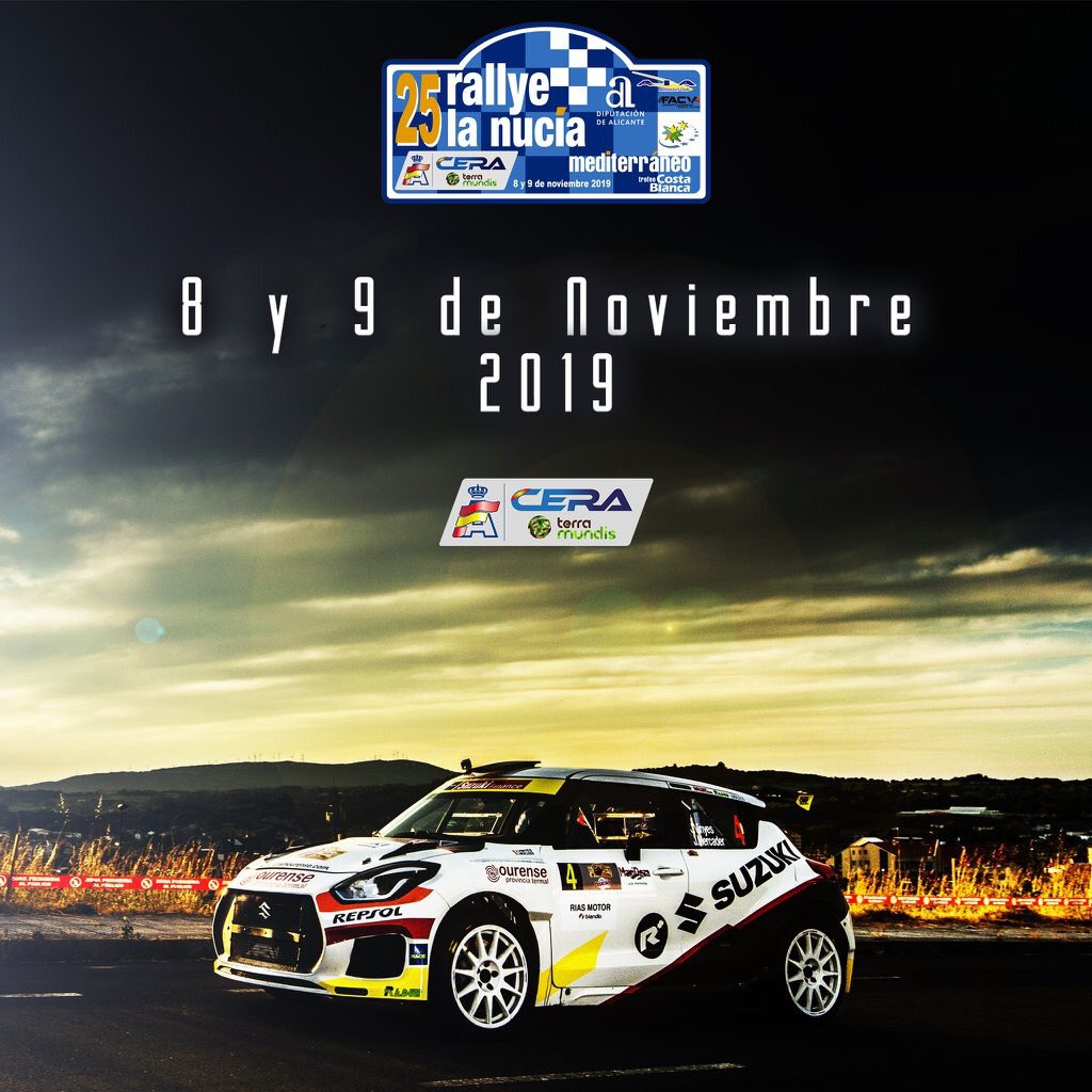 Cartel Rally de la Nucia 2019