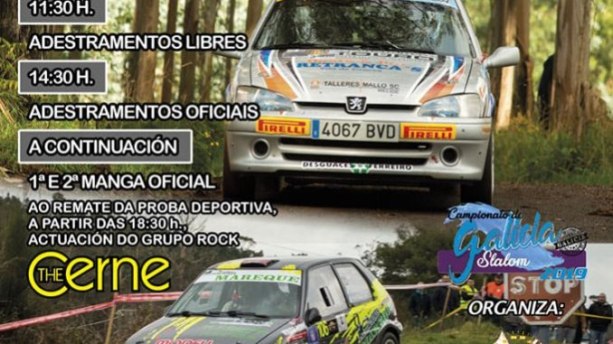 Cartel Slalom de Touro 2019