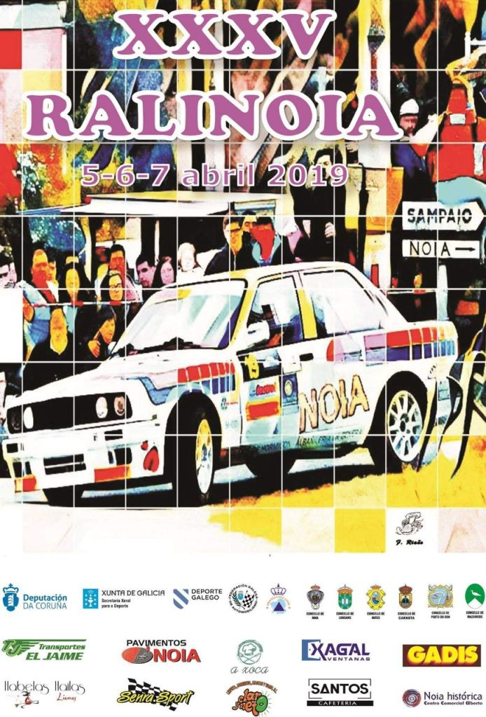 Cartel Rally de Noia 2019