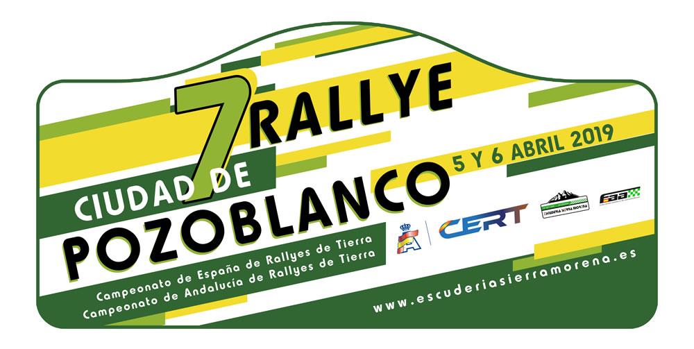 7º Rally de Tierra de Pozoblanco 2019