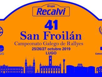placa rallye san froilan 2019