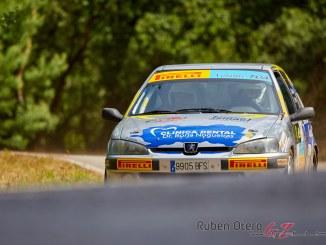 Jose Manuel Cabezas en el Rally Botafumeiro 2019