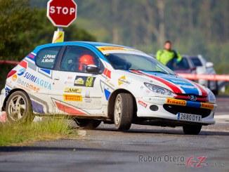 Joaquin Perez en el Rally Botafumeiro 2019