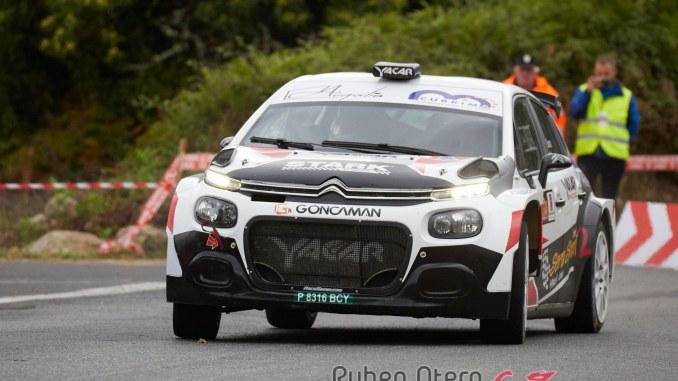 Victor Senra en el Rally Ribeira Sacra 2019