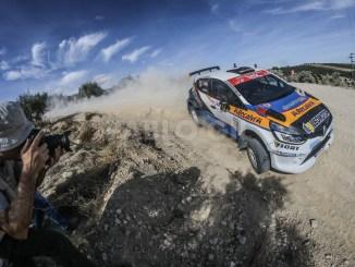 Fran Cima en el Rally de Granada 2019