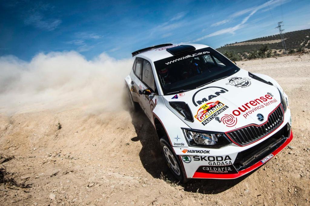 Javier Pardo en el Rally de Granada 2019