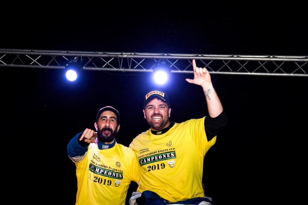 Quijada y Cuni campeones de la Dacia Sandero (2)