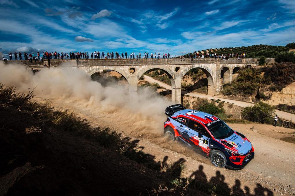 Sebastian Loeb en el Rally de Granada 2019