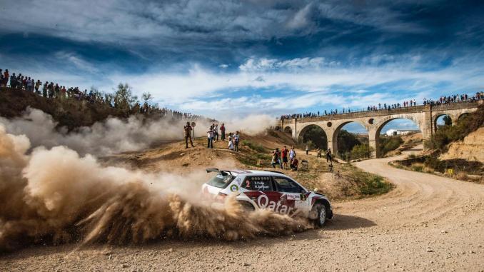 Xevi Pons en el Rally de Granada 2019