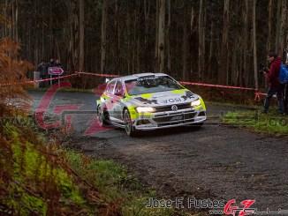 Caamaño en el Rally Mariña Lucense