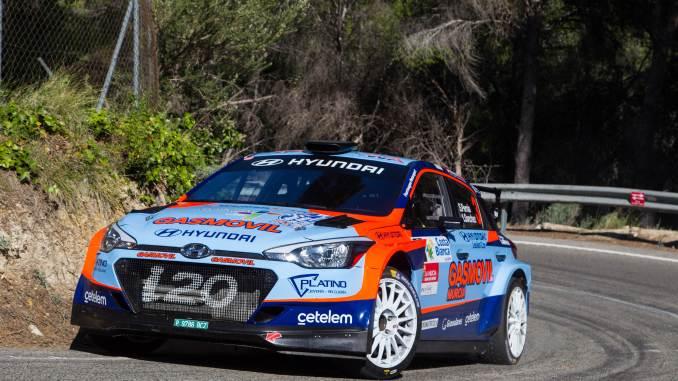 Pernia en el Rally de la Nucía 2019