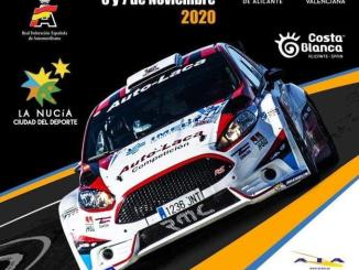 Cartel Rally de la Nucia 2020