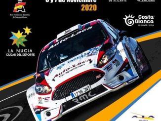 Cartel Rally de la Nucia 2020
