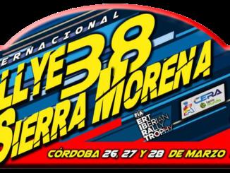 Placa Rally Sierra Morena 2020