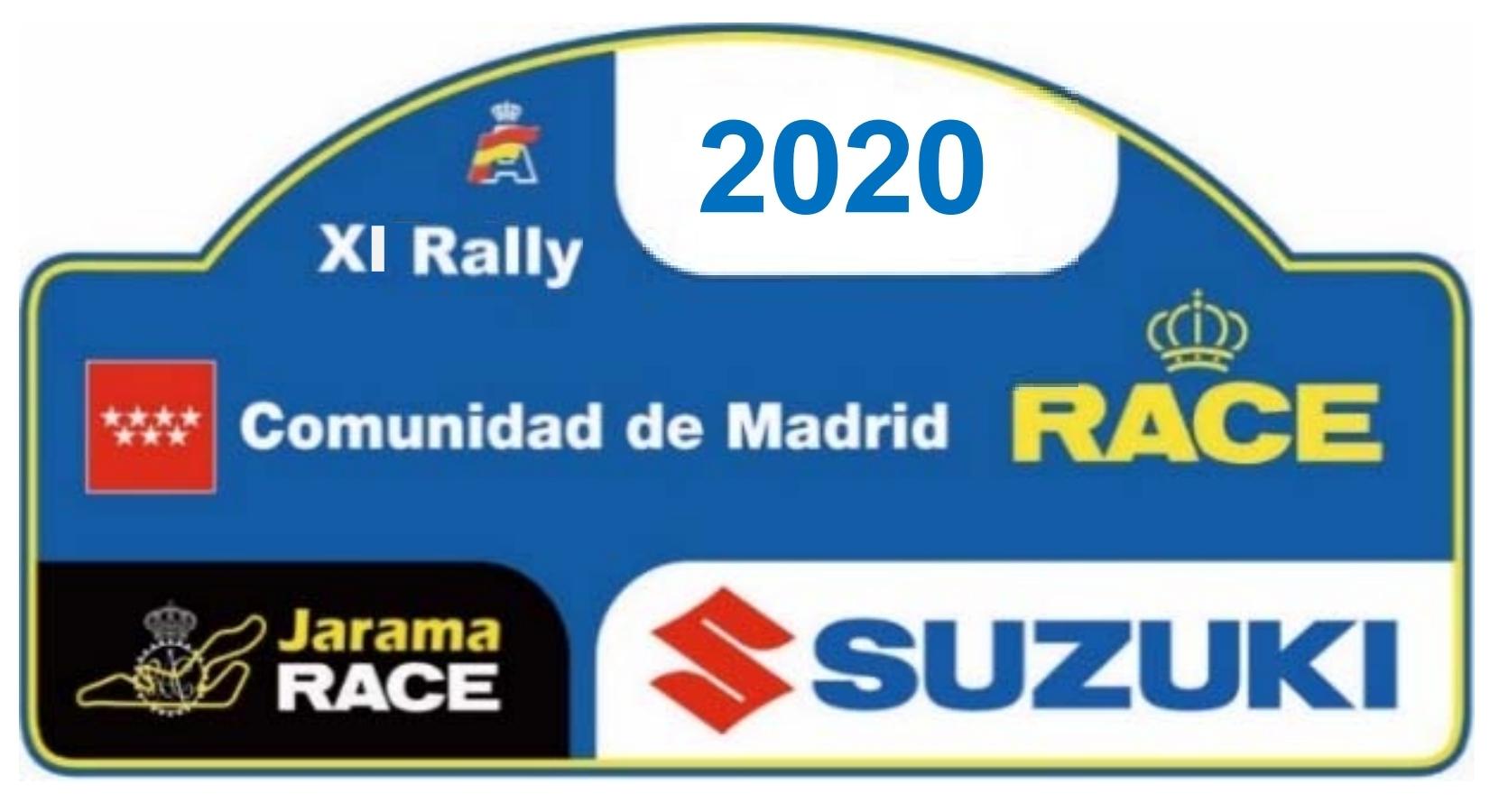Placa Rally de Madrid 2020