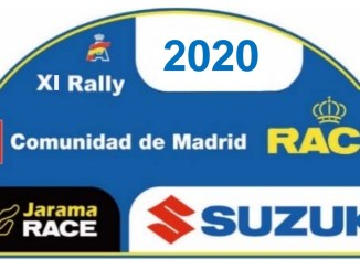 Placa Rally de Madrid 2020