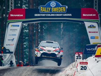 Toyota Racing en el Rally de Suecia 2019