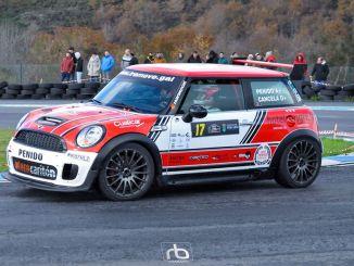 Luis Penido en el Rally de A Coruña 2020