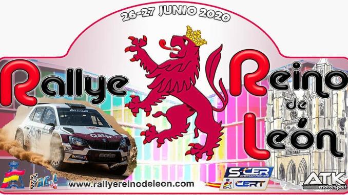 Placa Rallye Reino de Leon
