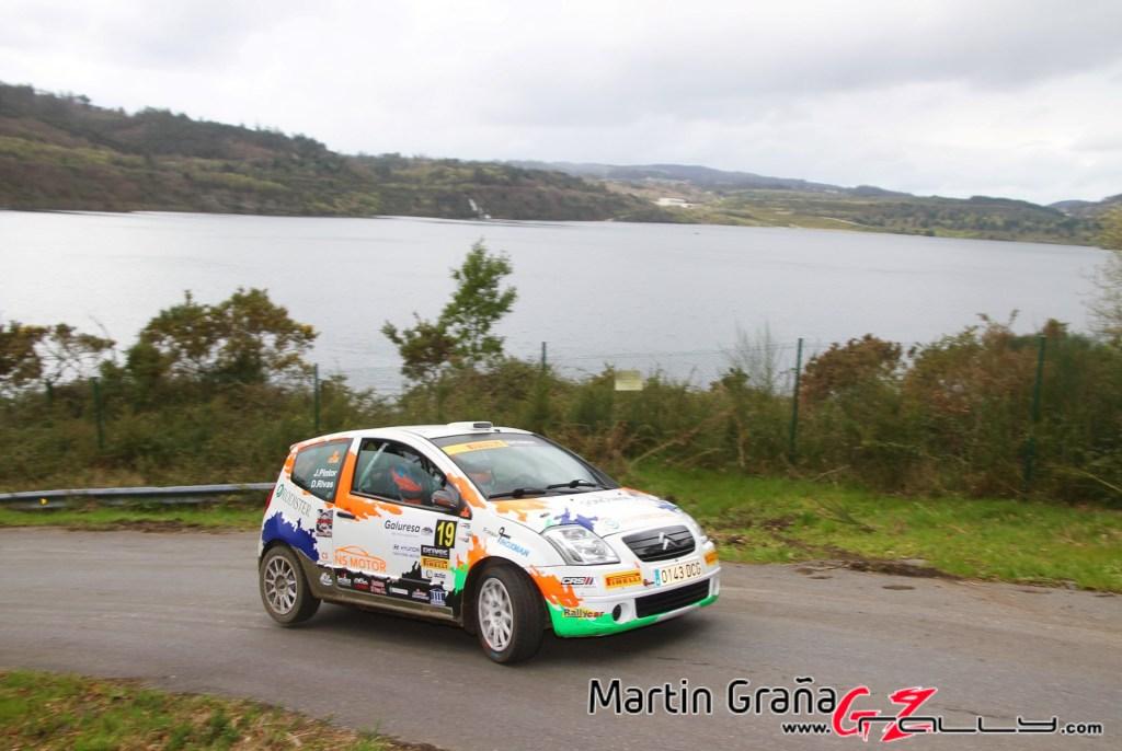 Dani Rivas en el Rally de A Coruña 2020