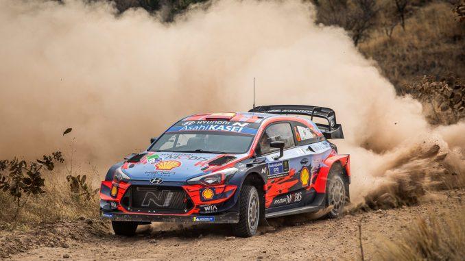 Dani Sordo en el Rally de Mexico 01