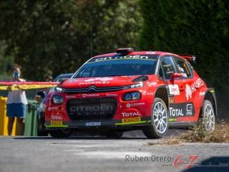 Pepe Lopez en el Rally de Ourense 2020