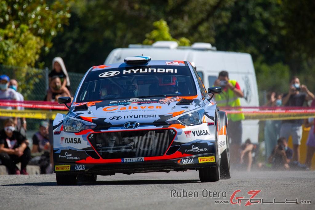 Ivan Ares en el Rally de Ourense 2020