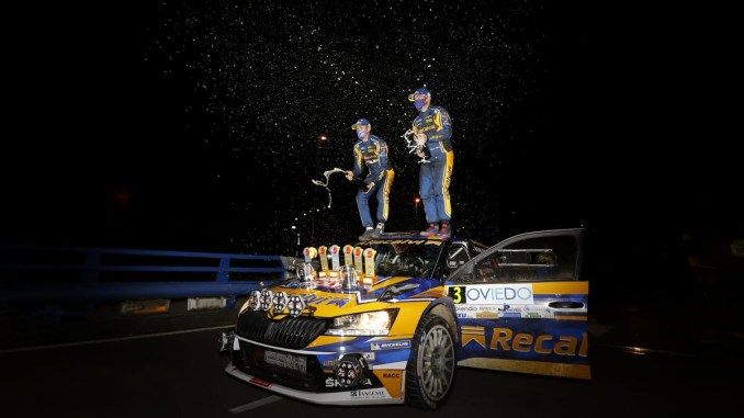 Cohete Suarez en el Rally Princesa de Asturias 2020