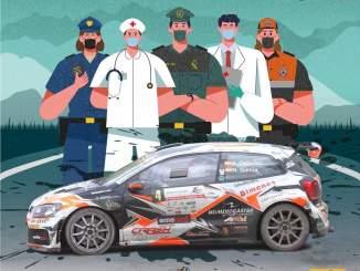 Cartel Rally Virtual La Felguera